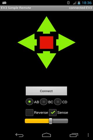 EV3 Simple Remote
