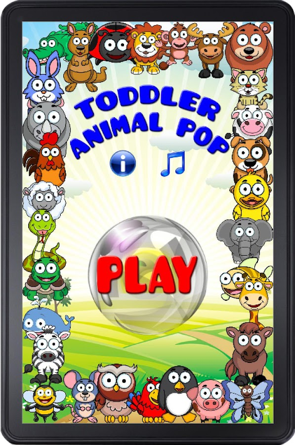 Toddler Animal Pop- screenshot