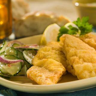 Fried Catfish With Cucumber Slaw