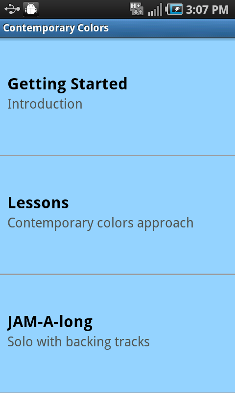 iImprov - Contemporary Colors- screenshot