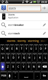 Storm - HD Keyboard Theme- screenshot thumbnail