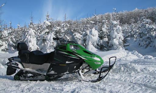 雪地摩托車拼圖