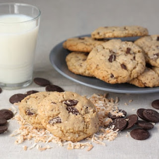 Toasted Coconut Chocolate Chunk Cookies