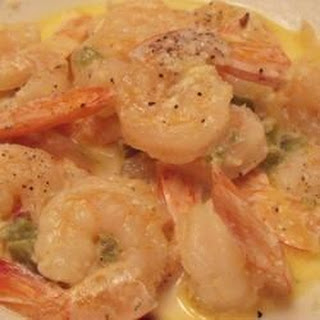 Spicy Shrimp in Cream Sauce.