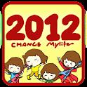 Z 2012 Theme GO Launcher  EX logo