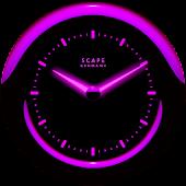 Laser Clock ANDROID PURPLE