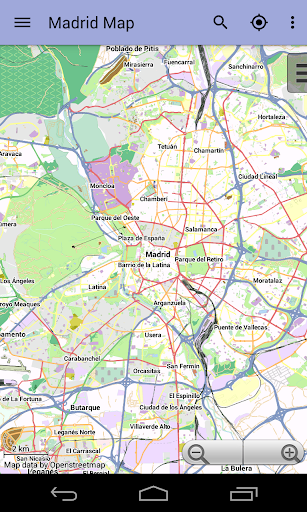 Madrid Offline City Map Lite