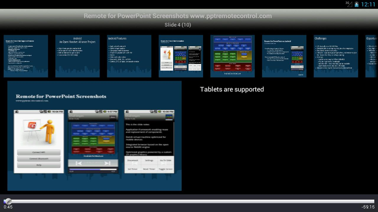 Remote for PowerPoint Keynote - screenshot
