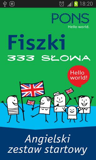 Fiszki - 333 słów angielskich