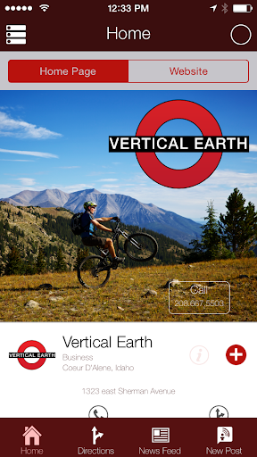 Vertical Earth