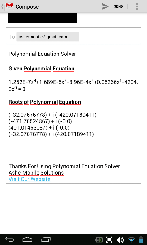 how to solve nth degree polynomial equation