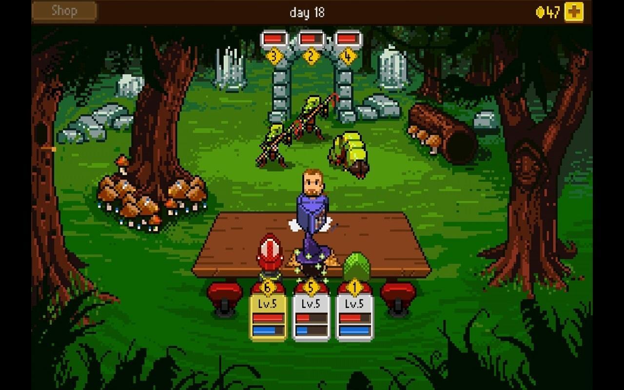 Knights of Pen & Paper +1 screenshot #15