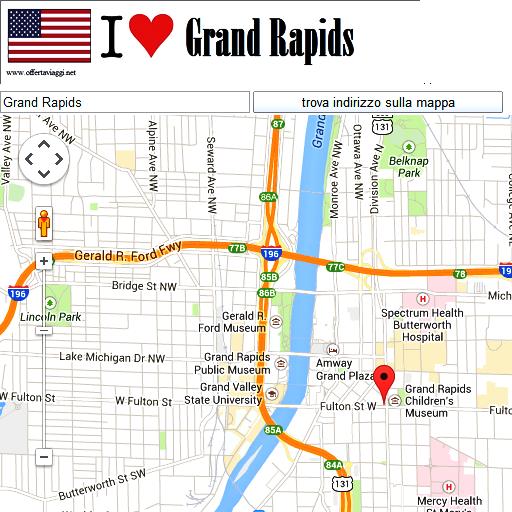 Grand Rapids maps