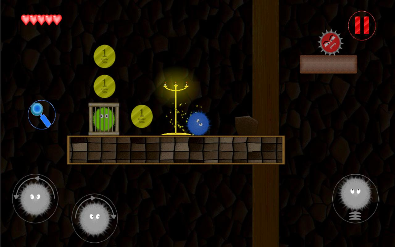 Fuzzy hero- screenshot
