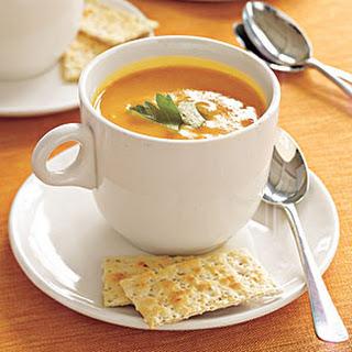 Spicy Pumpkin Soup.