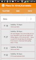 Screenshot of Mobile Recharge & Tariffs