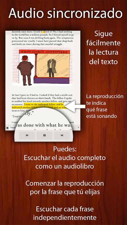 Lee en Inglés a Mark Twain- screenshot