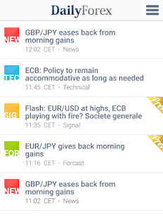 Forex Signals, Analysis & News- screenshot thumbnail