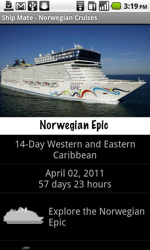 Ship Mate - Norwegian Cruises - screenshot