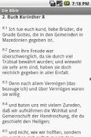 Screenshot of Die Bibel (Martin Luther vers)