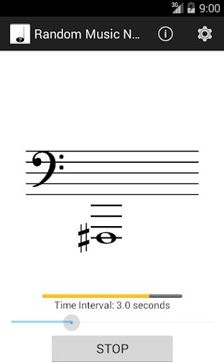 Random Music Notes
