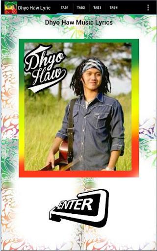 dhyohaw lyric