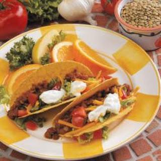 Tasty Lentil Tacos.