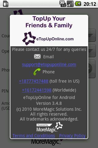 eTopUpOnline- screenshot