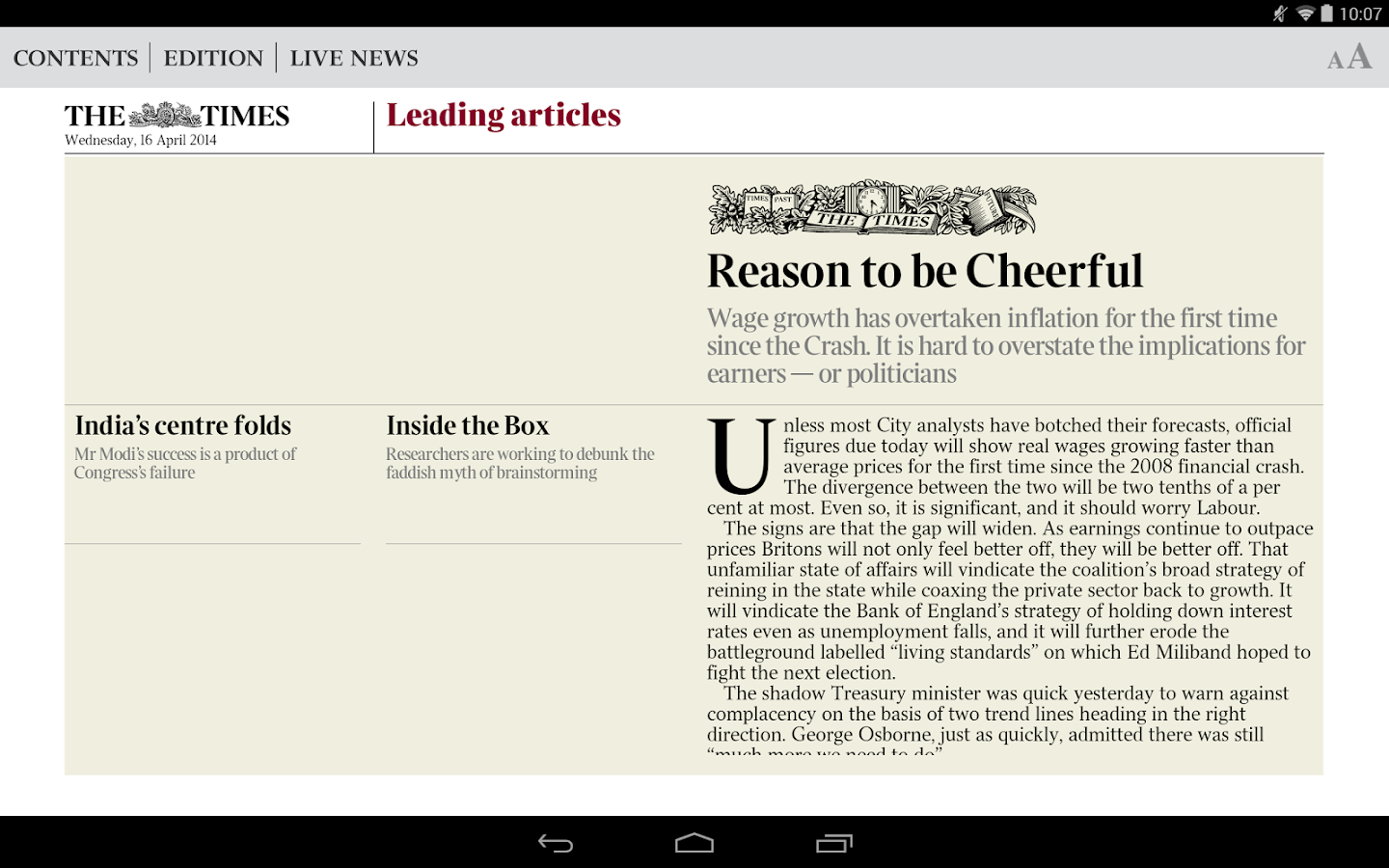 The Times & Sunday Times News - screenshot