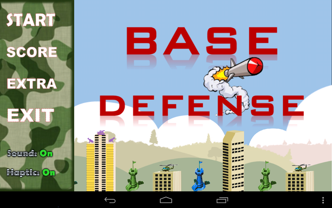 BASE DEFENSE- screenshot