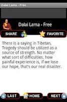 Screenshot of Dalai Lama Wisdom - Free