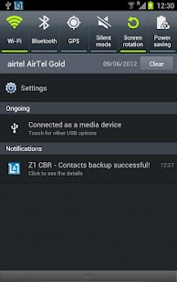Contacts Backup - AUTOMATIC - screenshot thumbnail