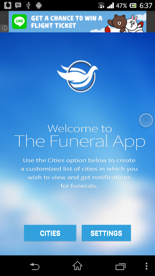 Funerals/Obits- screenshot