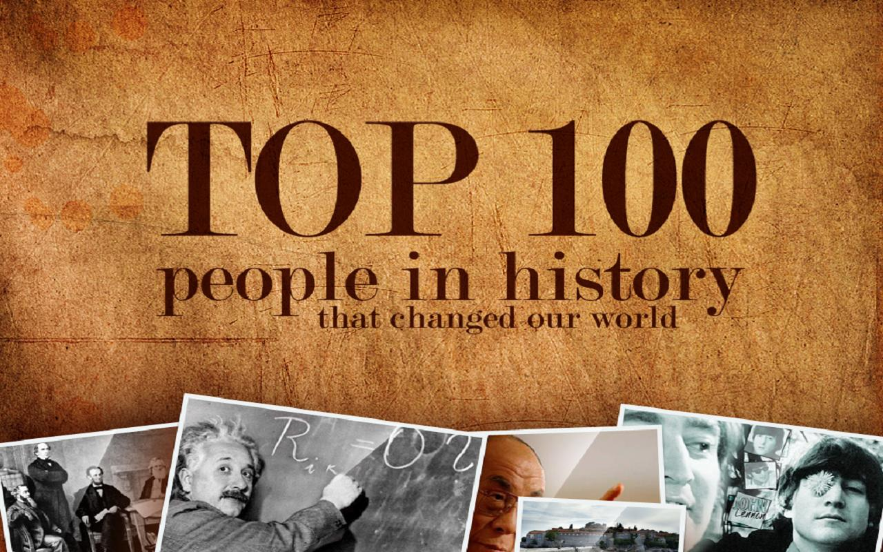 Top 100 - People in History - screenshot