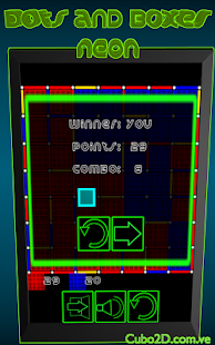 Dots and Boxes (Neon)- screenshot thumbnail