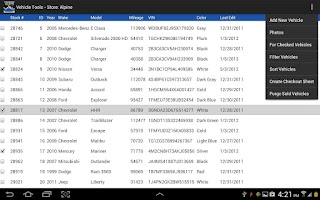 Screenshot of VehicleTools VIN Decoder