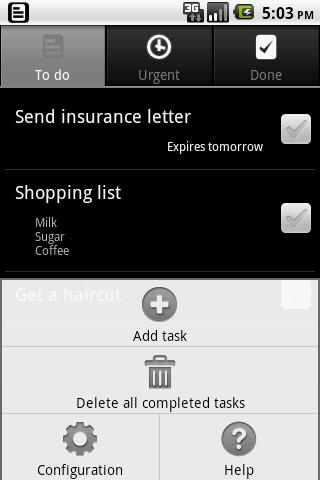 Toodoo- screenshot