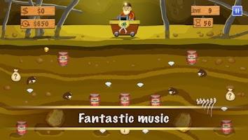 Screenshot of Gold Miner Deluxe