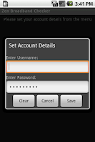 Screenshot of Zen Broadband Checker
