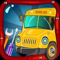 School Bus Wash & Garage : Car icon