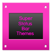 SuperStatusBarTheme GlossyPink