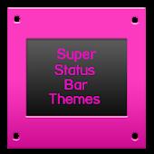 SuperStatusBarTheme GlossyPink