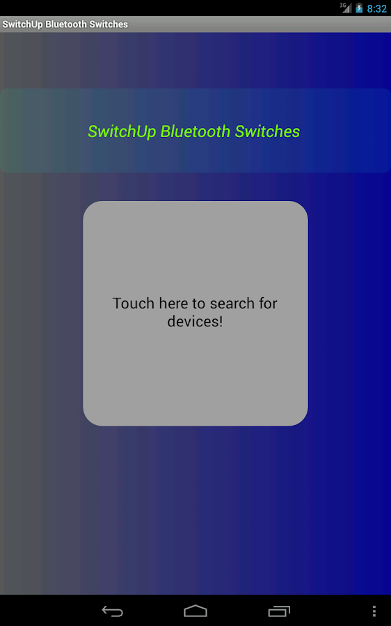 SwitchUp Bluetooth Dimmer - screenshot