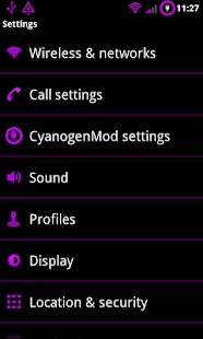 Purple Theme Chooser - screenshot thumbnail