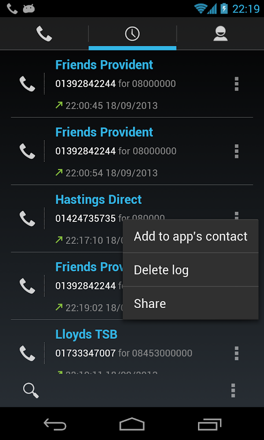 0870 0844 0800 Free Call - screenshot