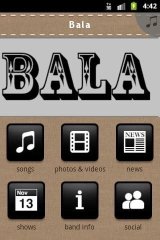 Bala - screenshot