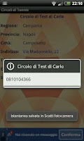 Screenshot of Circoli di Tennis