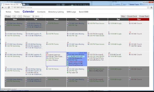 vcCalendar- screenshot thumbnail