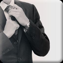 ネクタイの結び方辞典 声操作で結びやすい!