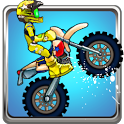 Cartoon Moto Cross icon